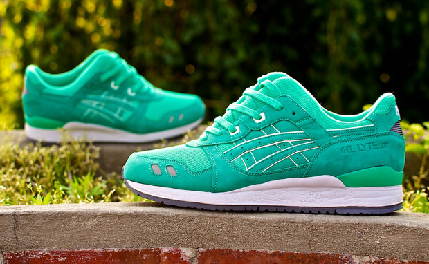 Asics Gel Lyte 3 Mint Leaf Ronnie Fieg