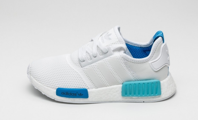adidas nmd women blue
