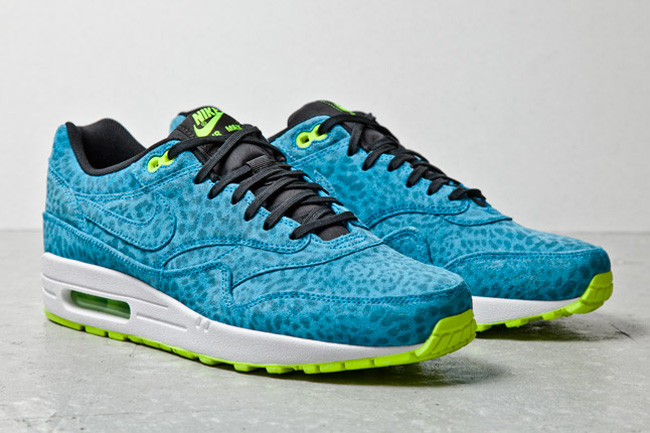 Nike Air Max 1 FB Blue Leopard