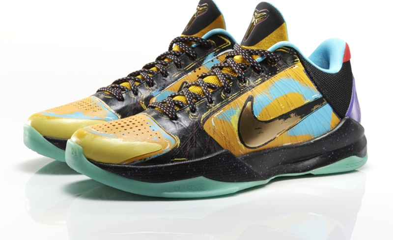 Nike Kobe 5 Prelude University Gold