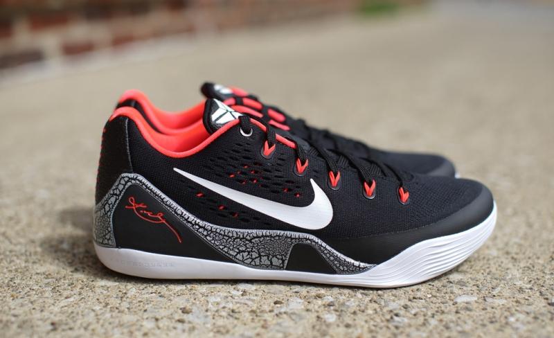 ShoeFax - Nike Kobe 9 Low EM Laser Crimson