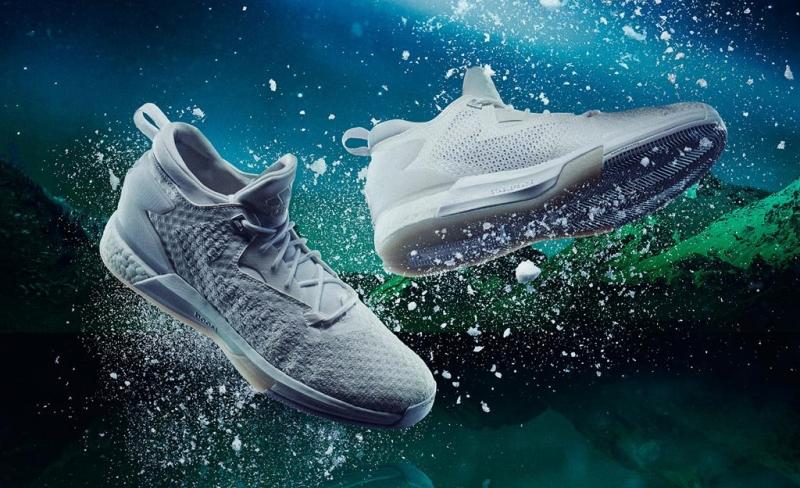adidas D Lillard 2 Boost Primeknit Aurora Borealis Triple White