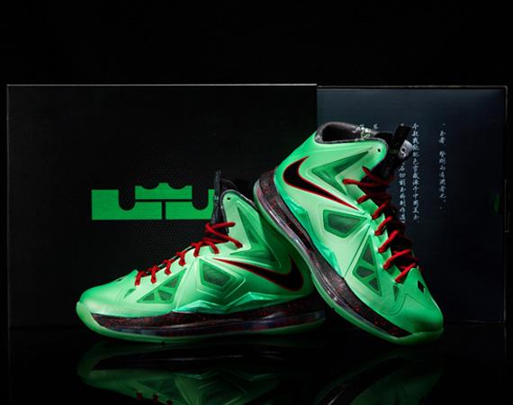 Nike LeBron 10 Cutting Jade