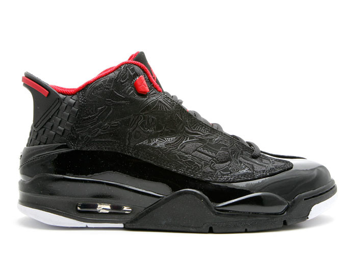 Air Jordan Dub Zero Black Varsity Red White
