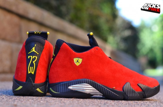 Air Jordan 14 Ferrari