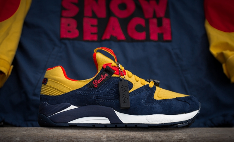Packer Shoes x Saucony Grid 9000 Snow Beach