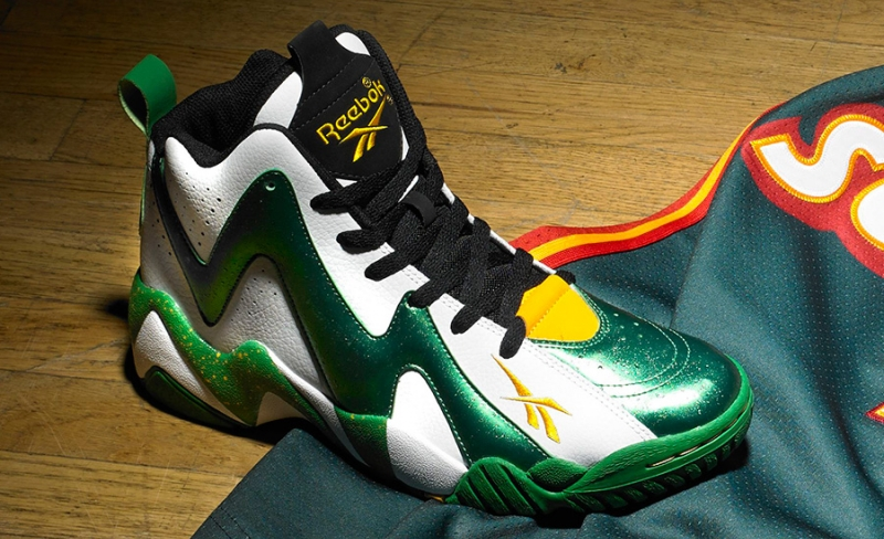Reebok Kamikaze 2 Seattle Supersonics