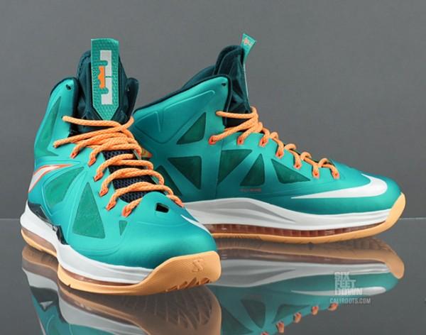 ShoeFax - Nike LeBron 10 Dolphins