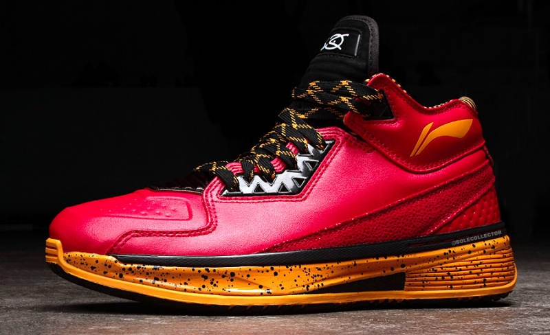 Li Ning Way of Wade 2 Code Red