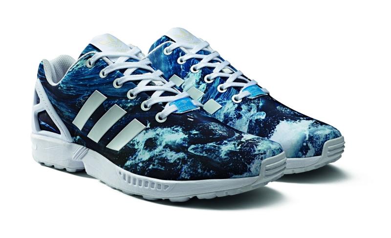buy online e18cc 31bc2 Adidas ZX Flux Ocean