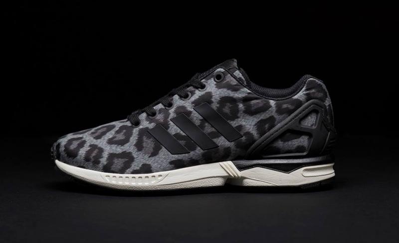 best loved d906c 9837d ShoeFax - Adidas ZX Flux Snow Leopard