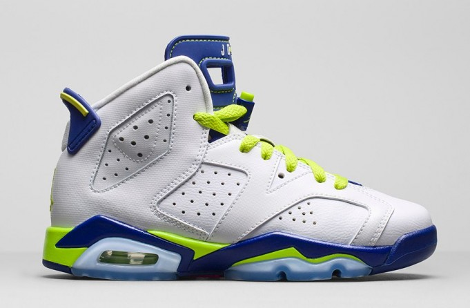 Air Jordan 6 GS Fierce Green