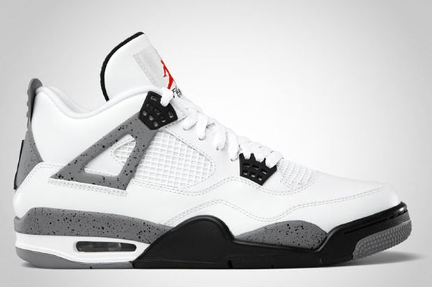 Air Jordan 4 White Cement (2012)