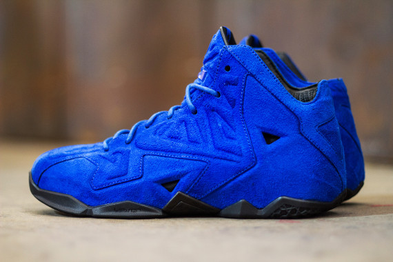 Nike Lebron 11 Blue Suede